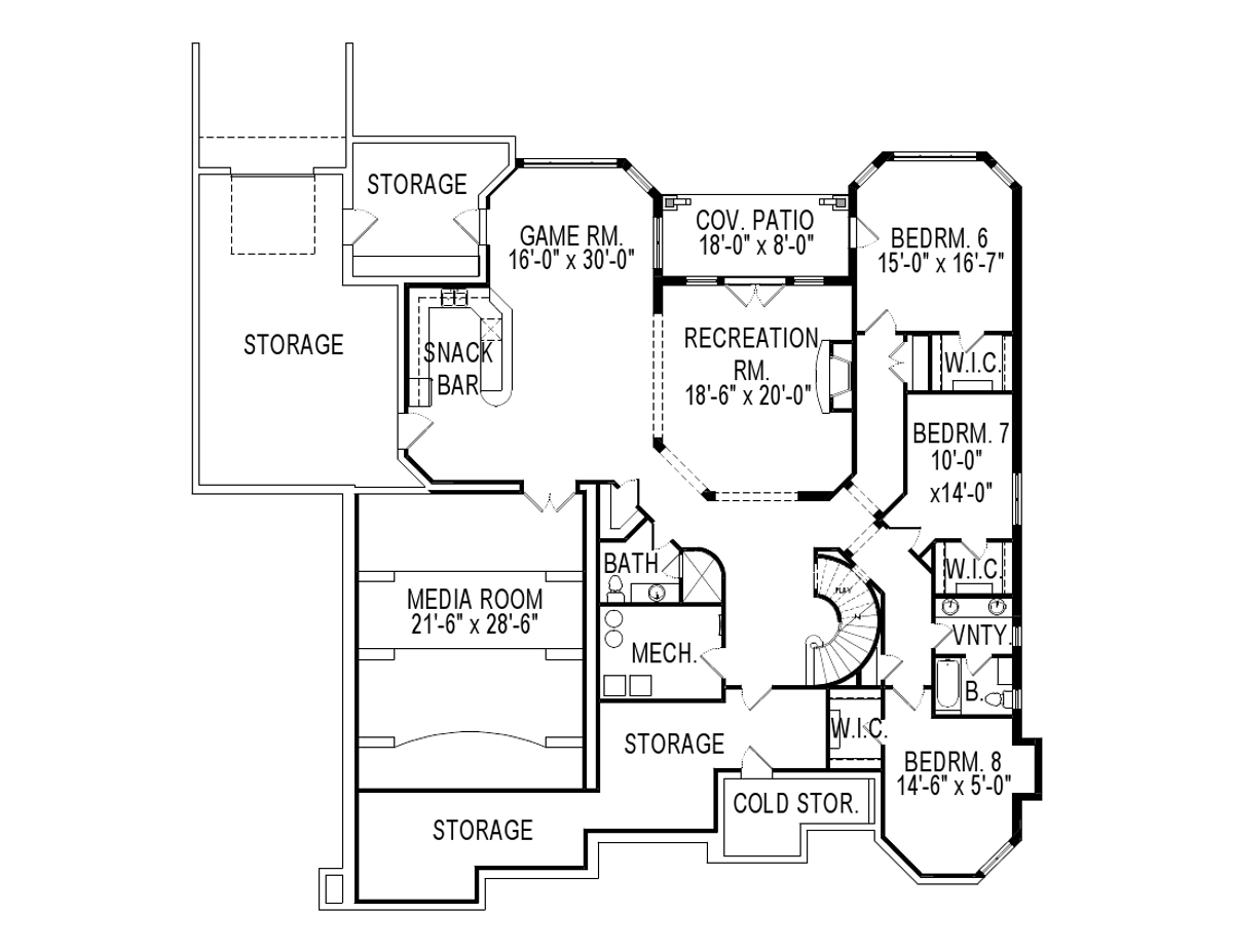 Kitchen Floor Plans With Island And Walk In Pantry chester